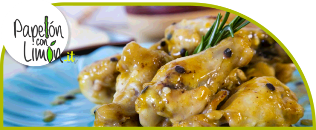 Chicken Baked in Passion Fruit Sauce