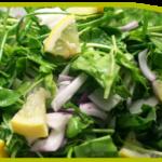 Parsley, Red Onion and Lemon Supreme Salad
