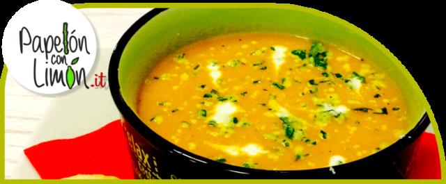 Sopa de Auyama (Crema)