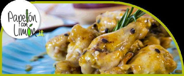 Pollo al Horno en Salsa de Parchita