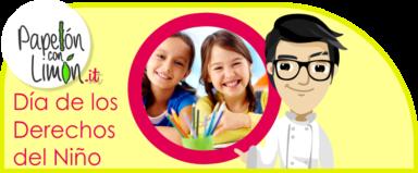 20 de Noviembre: Día de los Derechos del Niño